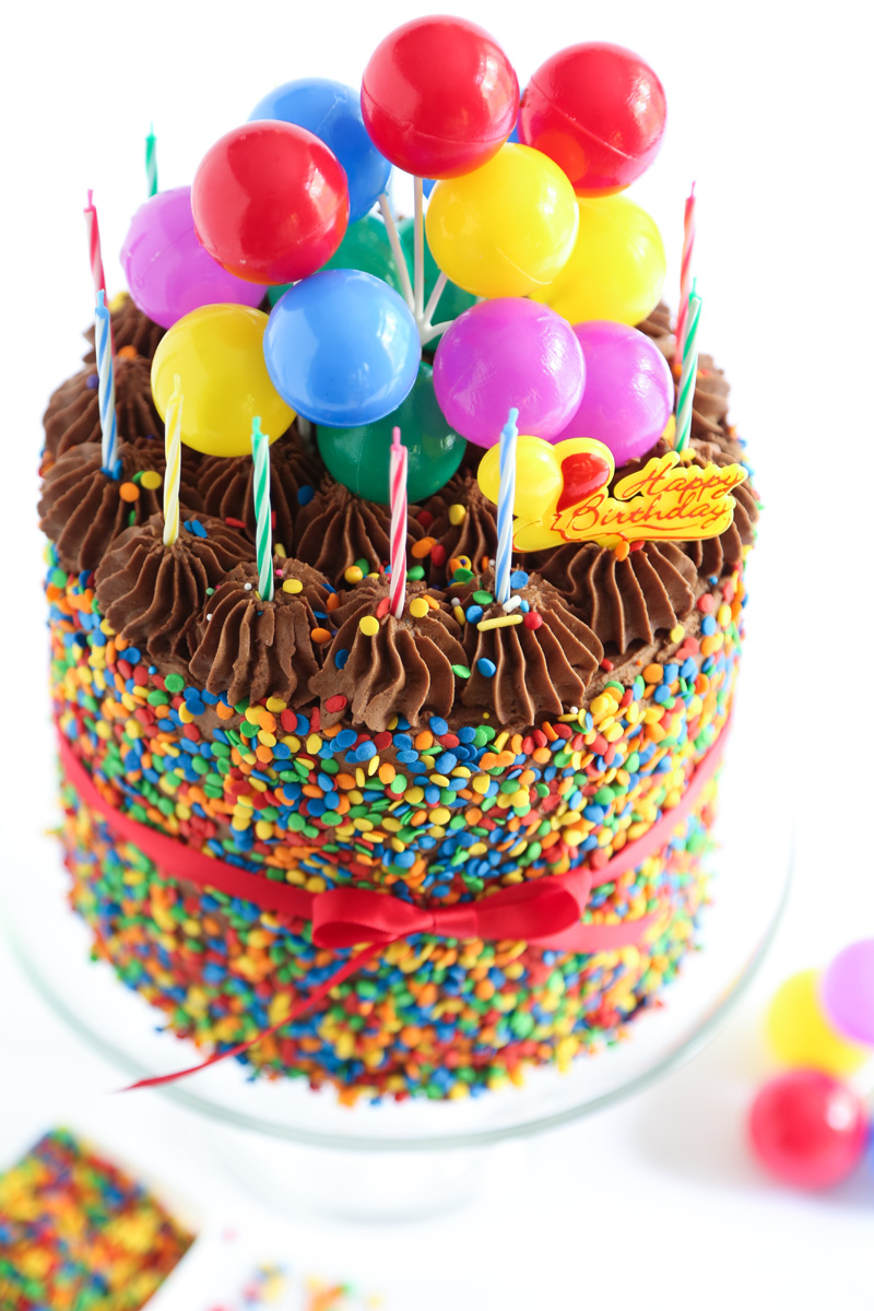 the birthday cake sprinkle
