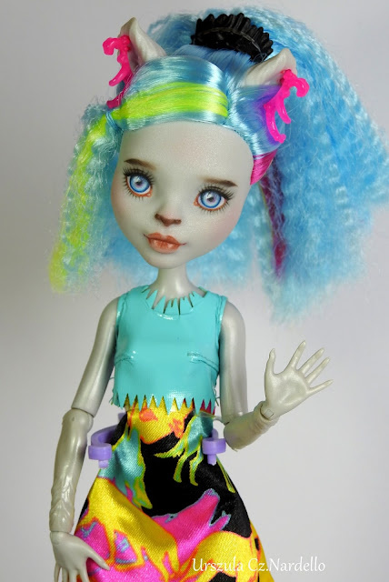 Monster High Silvi Timberwolf ... :)