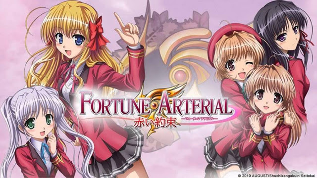 Download OST Opening Ending Anime Fortune Arterial: Akai Yakusoku Full Version