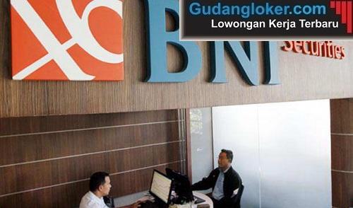 Lowongan Kerja PT Bank Negara Indonesia Securities (BNI Securities)