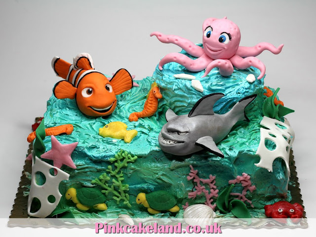 NEMO and Coral Reef - Birthday Cake in London