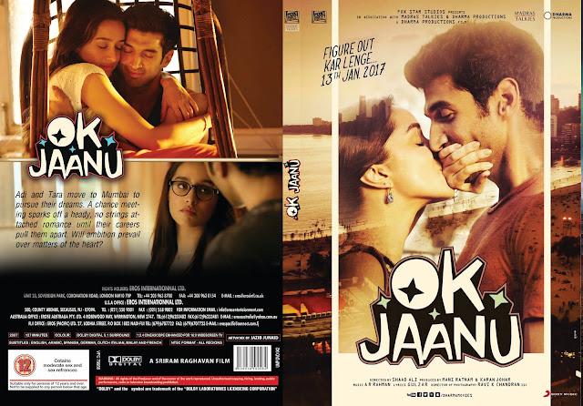 OK Jaanu DVD Cover