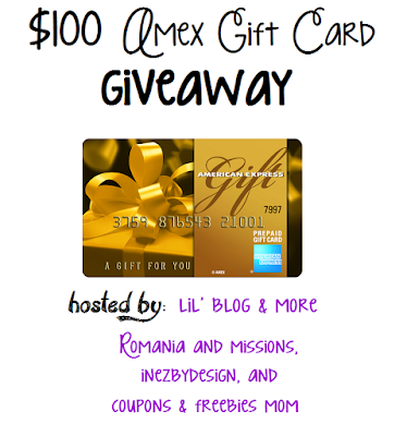 $100 American Express Gift Card Giveaway. Ends 11/10