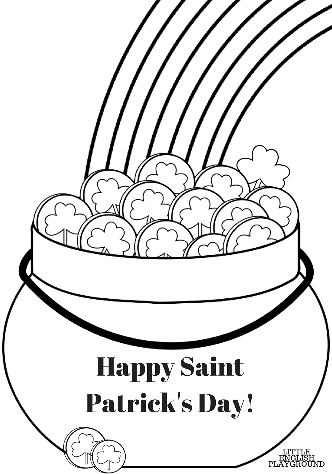st patrick u0027s day free printable materials for kids u0027 english