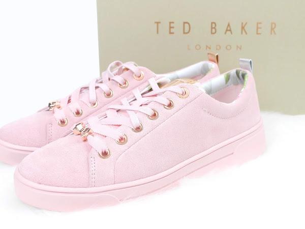 Ted Baker Kelleis Mink Pink Sneakers