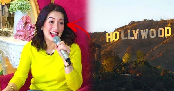 Kris Aquino is now signing a contract for a Hollywood Movie! After she was rejected on Big TV Station