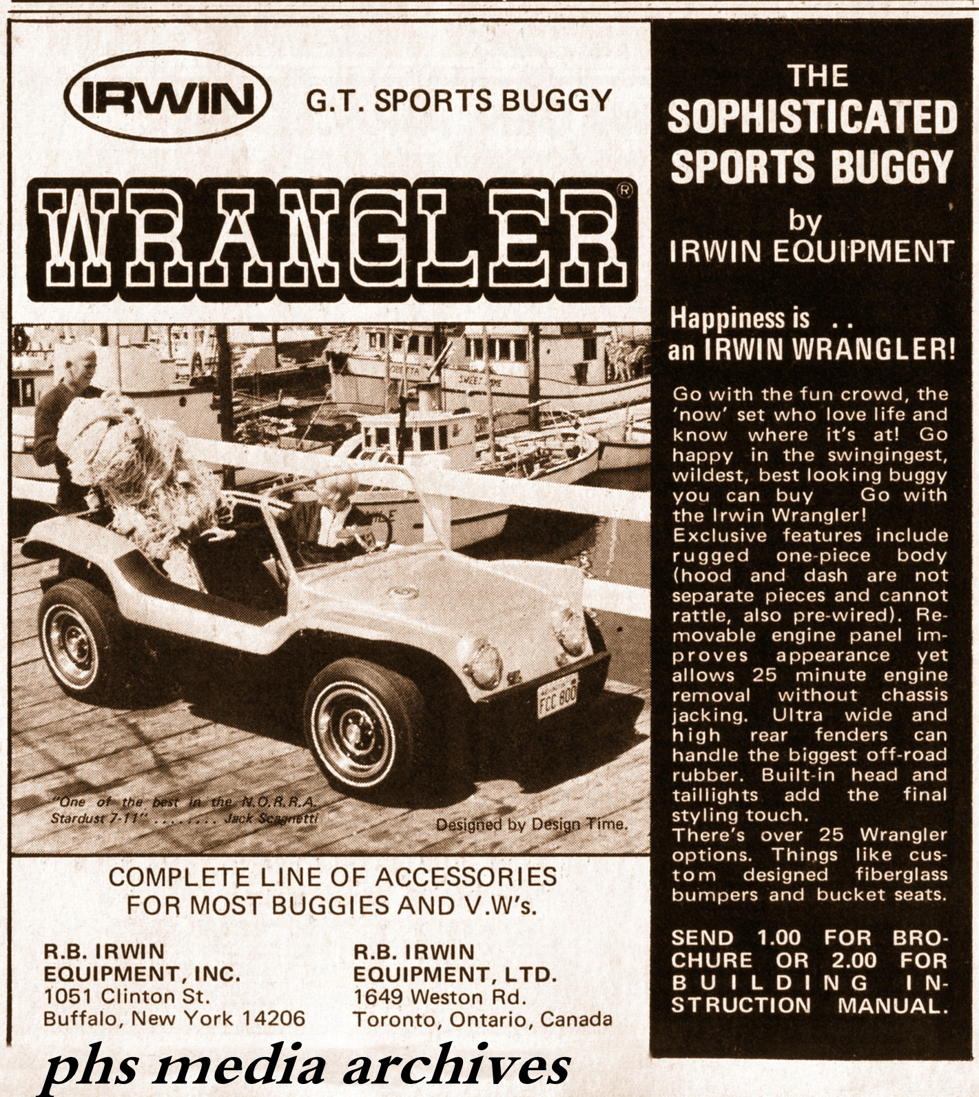 Summer Special On 1960s Dune Buggy Kits Phscollectorcarworld 1967 Vw Beetle Simple Wiring Diagram Wrangler Gt Sports Was Available In Usa And Canada Through Offices Toronto Buffalo This A Bit More Pricey Kit Than Standard