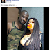 """You Turned Him Into A Mumu""-  Nigerians Blast Heavily Endowed Lady After She Shares A Photo With Peter Okoye"