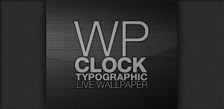 [ANDROID THEMES] WP CLOCK DESIGN LIVE WALLPAPER - Mang