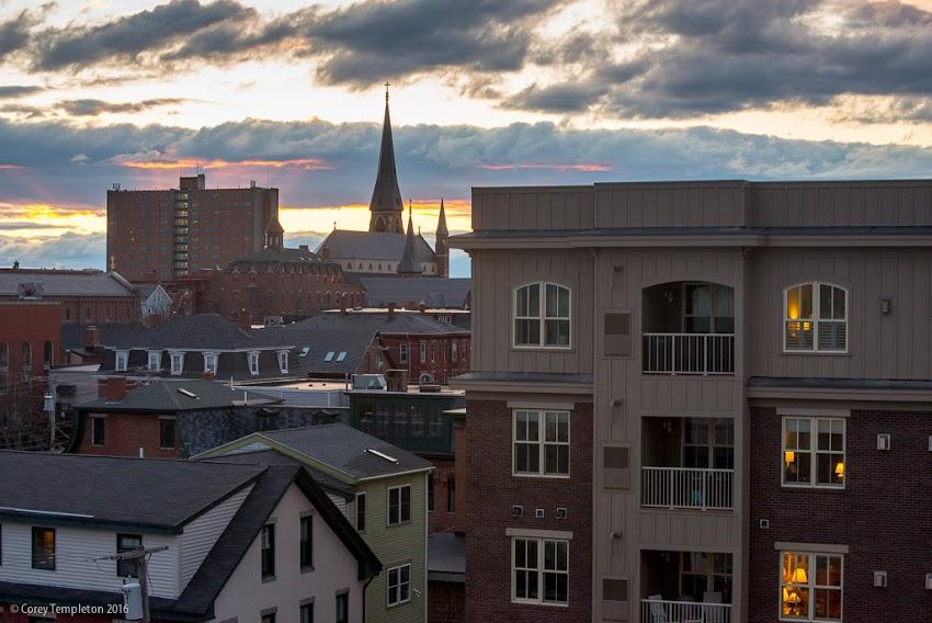 India Street Neighborhood in Portland, Maine USA. April 2016 photo by Corey Templeton.