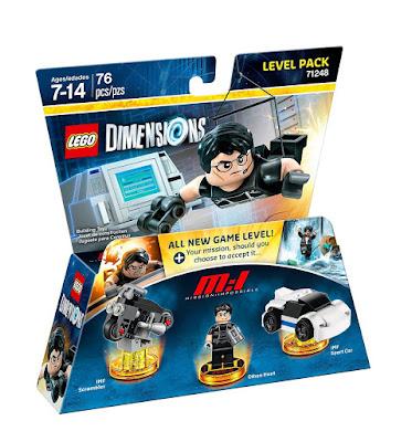 TOYS : JUGUETES - LEGO Dimensions  71248 Misión Imposible : Level Pack  Mission Impossible : Ethan Hunt  Figuras - Muñecos - Videojuegos | 2016  Piezas: | Edad: 7-14 años  Comprar en Amazon España & buy Amazon USA
