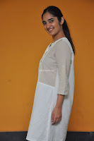 Radhika Cute Young New Actress in White Long Transparent Kurta ~  Exclusive Celebrities Galleries 080.JPG
