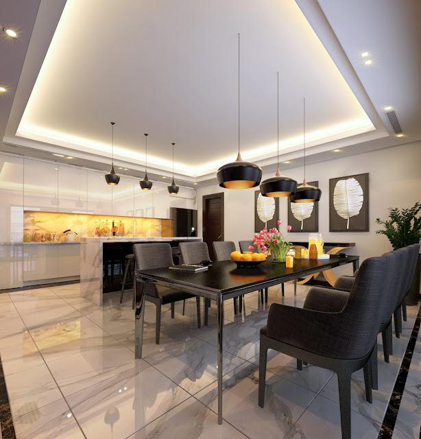 Phòng ăn dự án Hongkong tower