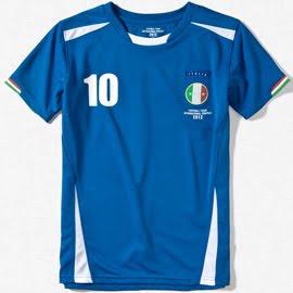 camiseta niños Italia Zara