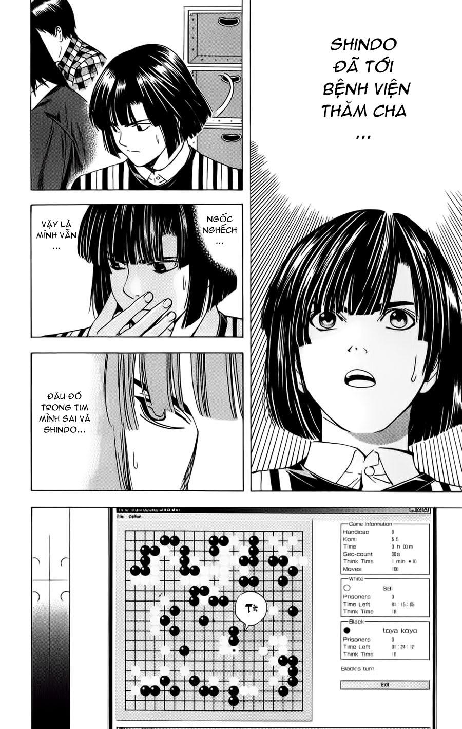 Hikaru No Go hikaru no go chap 115 trang 3
