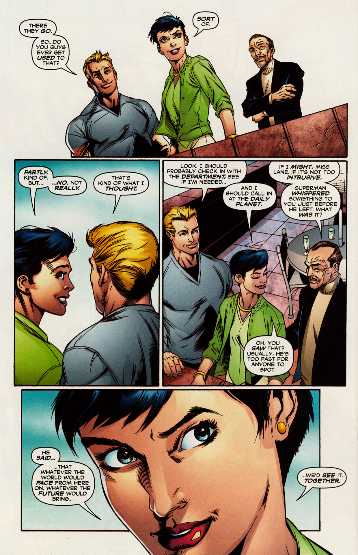 Read online Trinity (2008) comic -  Issue #52 - 31