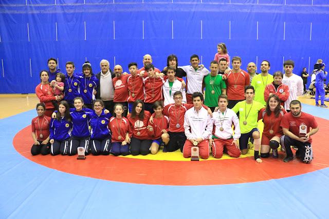 Participantes en el abierto