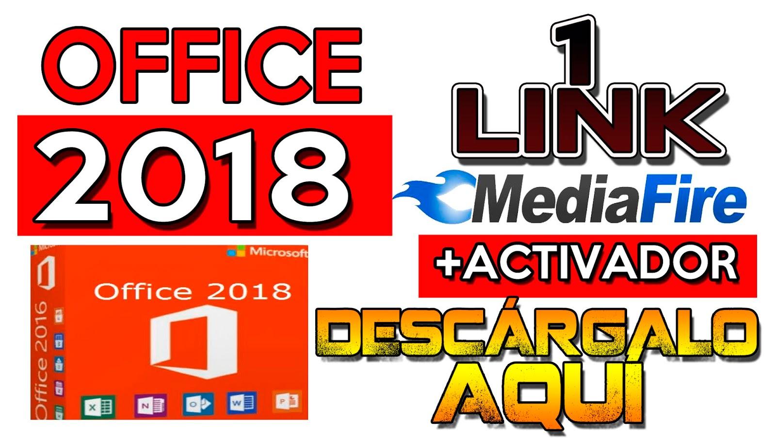 descargar office 2018 para windows 10
