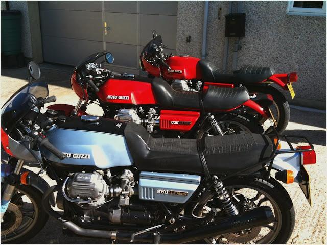 Moto Guzzi Le Mans Exhaust Sound