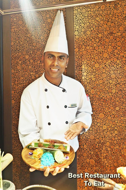 The Resort Café's Chef De Cuisine Parthiban Nalliah