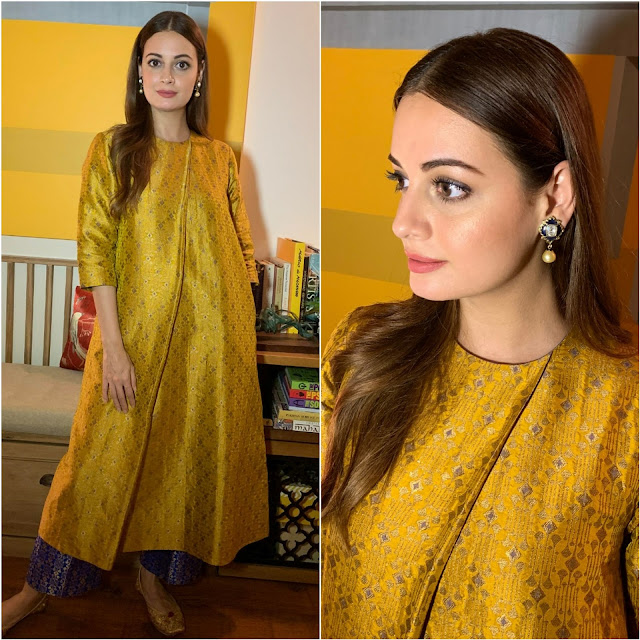 Dia Mirza in Payal Khandwala