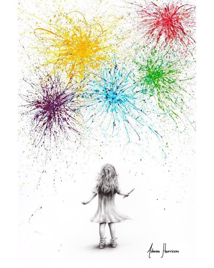 09-Visible-Spectrum-Fireworks-Ashvin-Harrison-Acrylic-Paintings-www-designstack-co