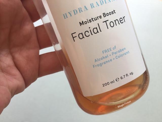 cyrene hydra radiance moisture boost facial toner incelemesi 1