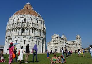 Baptisterio de Pisa.