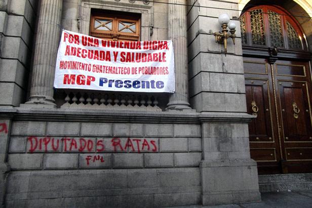 La mayoría de diputados de Guatemala no dan la talla