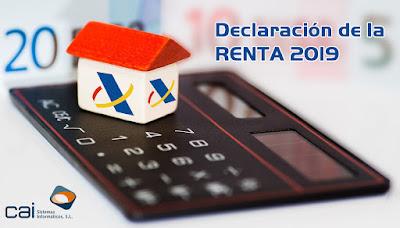 Declaración de la renta 2019 - CAIREN