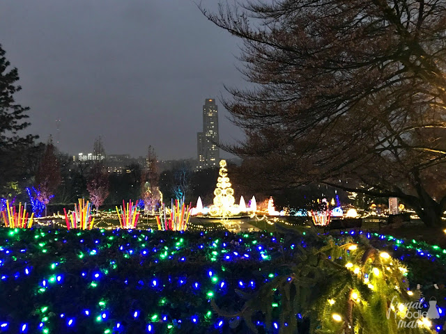 Running from now until January 7, 2018, the Winter Flower Show & Light Garden at Phipps Conservatory & Botanical Gardens is a must-do when in Pittsburgh during the holidays.