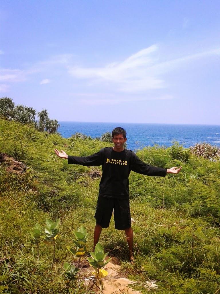 Dijalanan menuju Pantai Timang, Gunungkidul