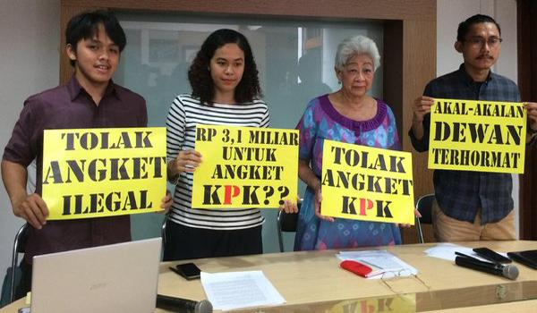 Save KPK, Bubarkan Pansus Hak Angket