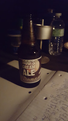 Rod's Cream Ale, Public House Brewing Co., St. James, Missouri