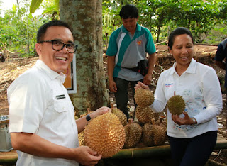 Durian The Sun Rise of Java Hipnotis Menteri Kabinet Kerja
