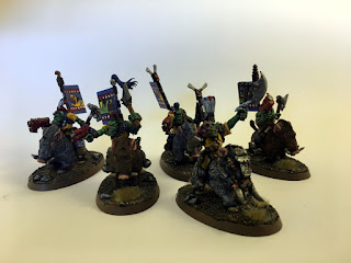40k 2nd edition Snakebite Boarboyz group shot