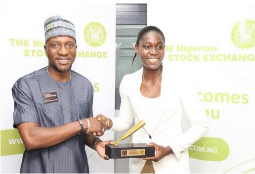 Asisat-Oshoala-rings-closing-bell-at-Nigerian-Stock-Exchange-1