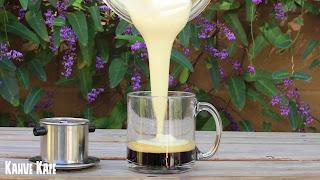 Vietnamese Egg Coffee-Yumurtalı Kahve-Cà Phê Trúng-KahveKafeBlogspotCom