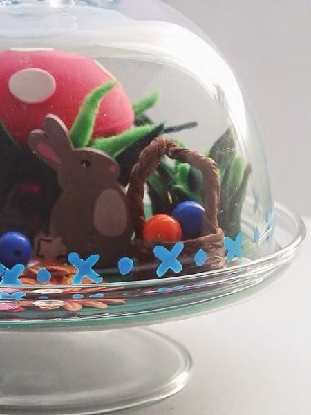 Monde miniature de Pâques