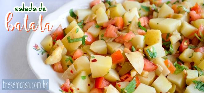 salada batata fácil