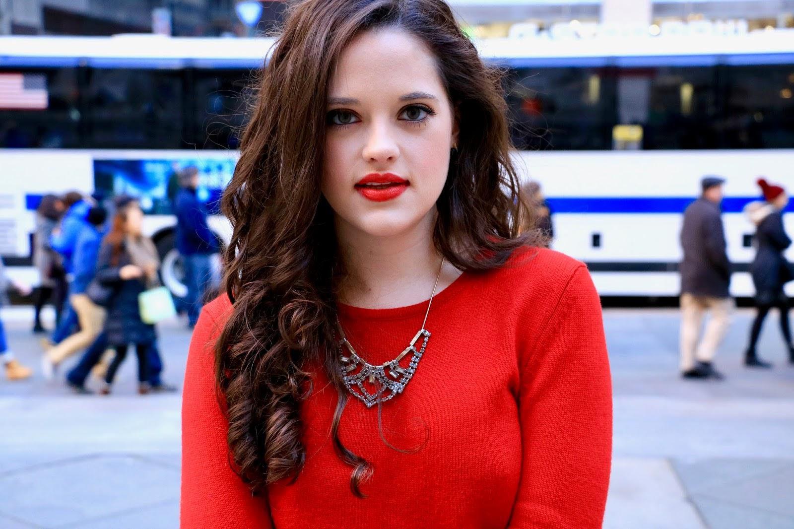 holiday beauty blogger pics
