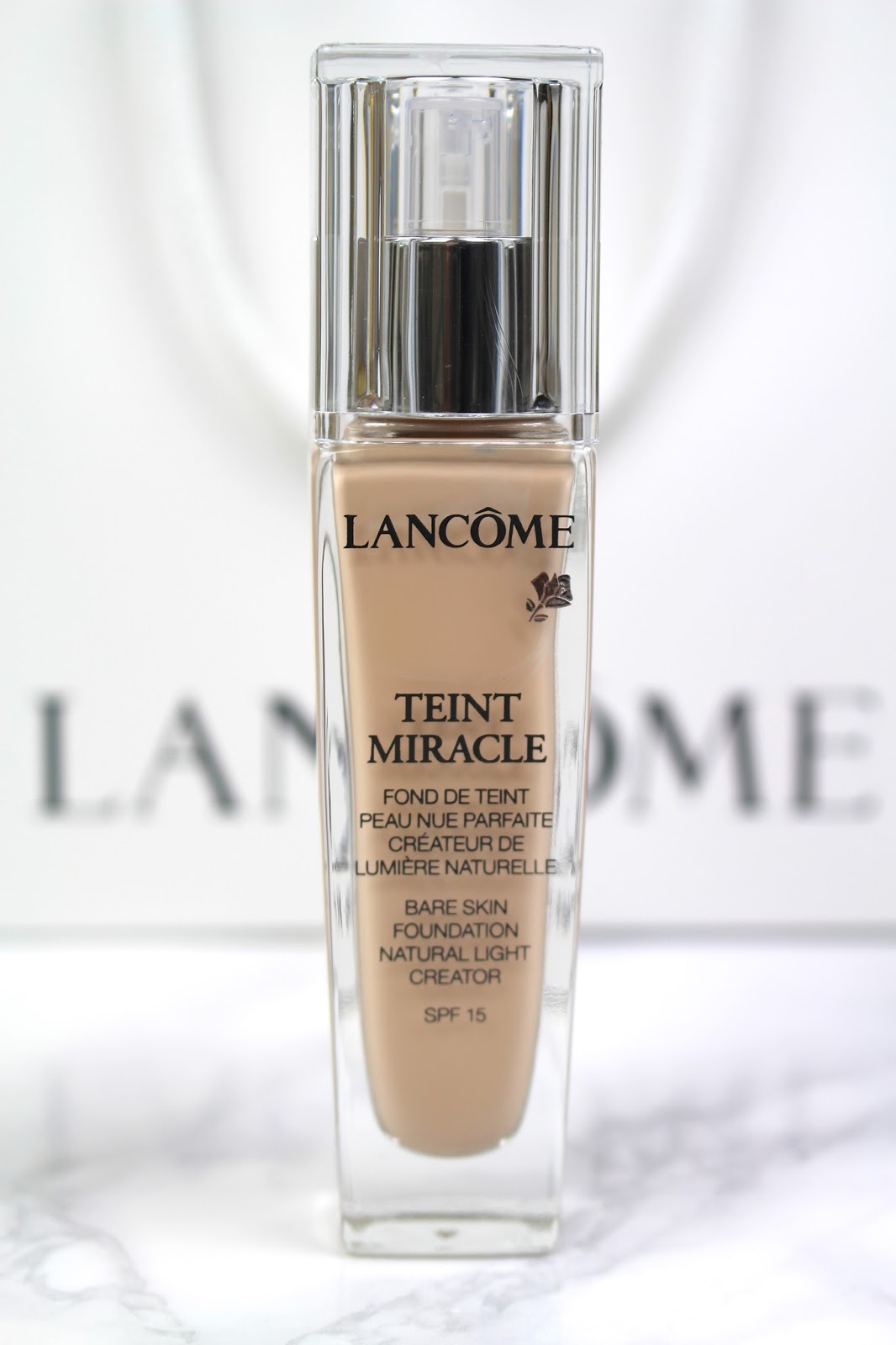 lancôme teint miracle foundation review