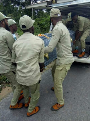 Photos: Another Corps member drowns while swimming in a river in Delta State