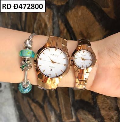 đồng hồ cặp đôi Rado Đ472800