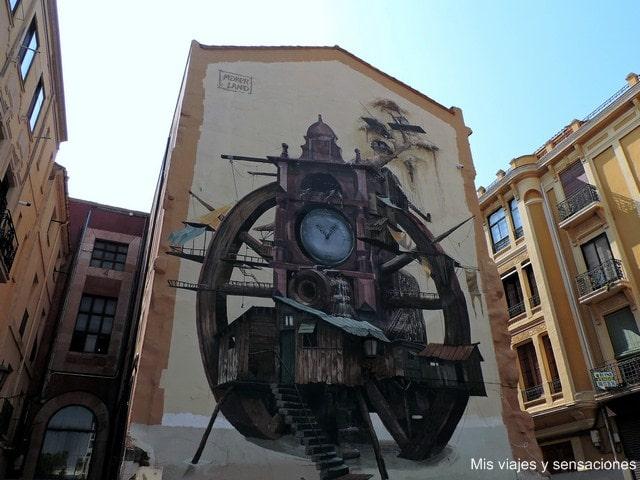 Murales en Zamora