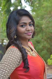 Actress Shalu Shamu Stills in Red Dress at Kekran Mekran Audio Launch 0002