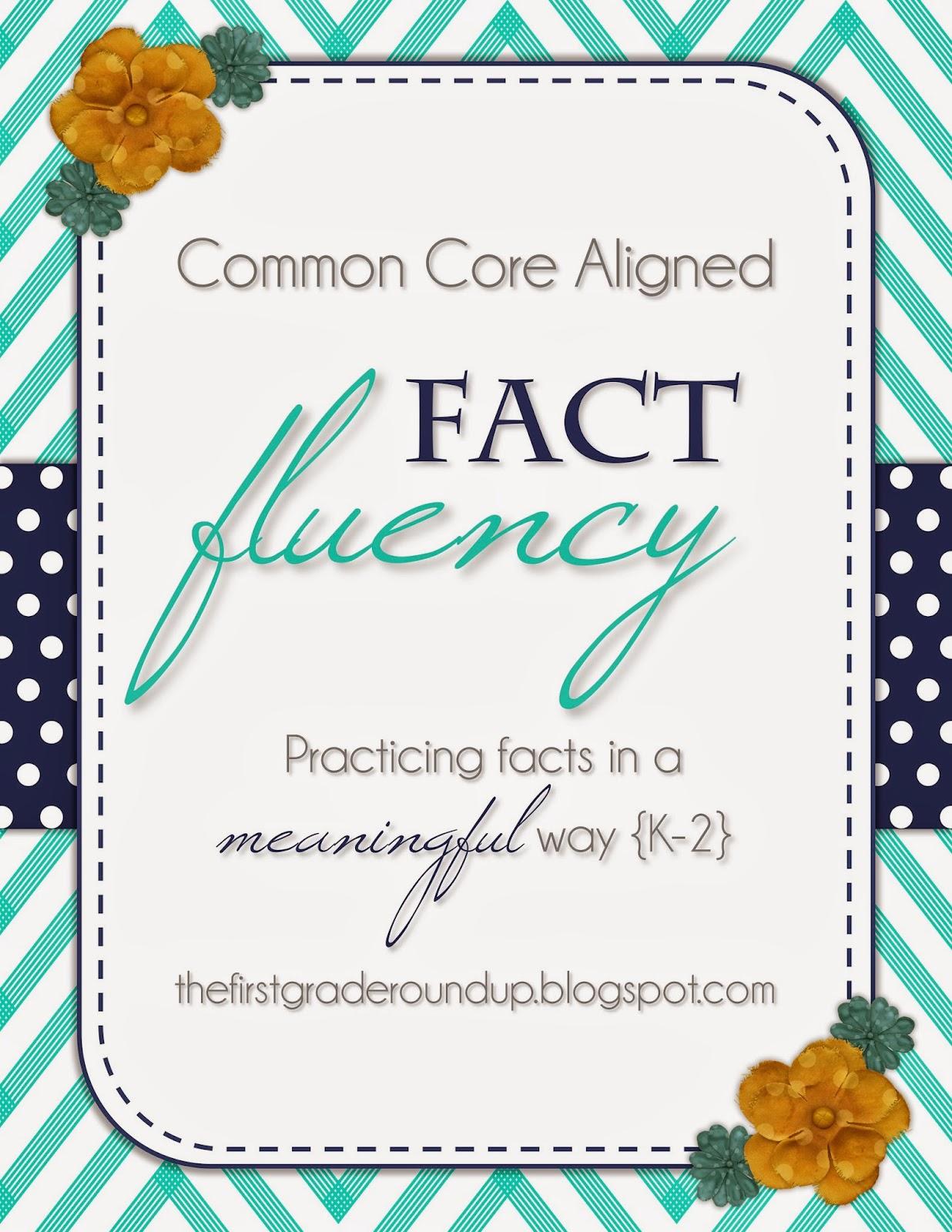 Firstgraderoundup Math Junkie Fact Fluency