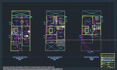 Expediente técnico de una vivienda unifamiliar - Plano instalaciones eléctricas