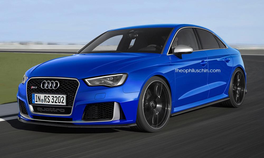 Audi RS3 Sedan có thể mạnh đến 400 mã lực?