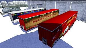 Christmas trailer pack